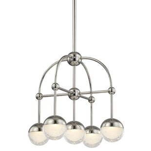 Mercer41 Raze 5-Light LED Shaded Chandelier