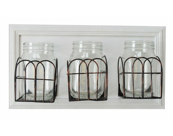 Mason Jar Wall Shelf | Wayfair