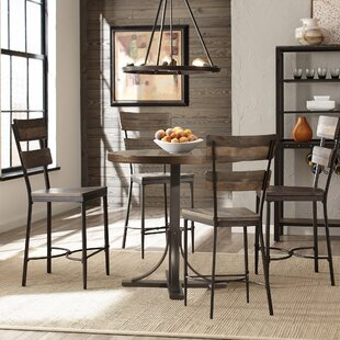 Putney 5 Piece Counter Height Breakfast Nook Dining Set Gracie Oaks