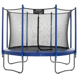 10' Trampoline With Safety Enclosure By Freeport Park