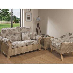 Cynthia 3 Piece Conservatory Sofa Set By Beachcrest Home