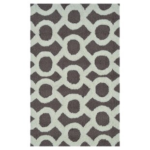Comparison Griffey Hand-Hooked Taupe Area Rug By Threadbind