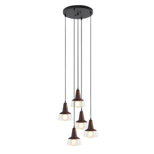 Lupita 5-Light Cluster Pendant by Williston Forge
