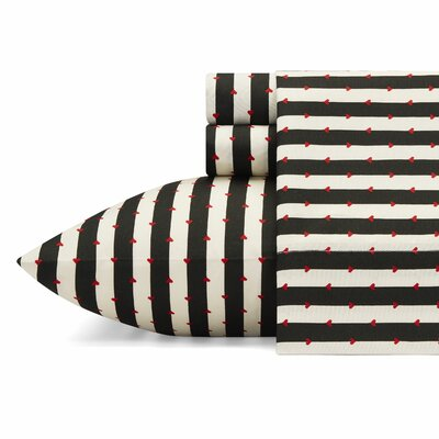 Wonderland Stripe Sheet Set Betsey Johnson