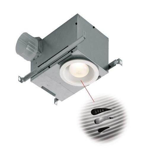 NuTone 70 CFM Energy Star Bathroom Fan With Light And Humidity Sensor |  Wayfair