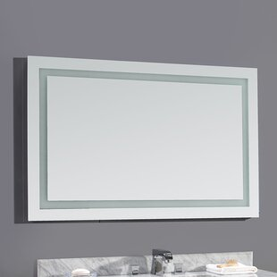 Check Prices Jovian LED Bathroom/Vanity Mirror By Ove Decors
