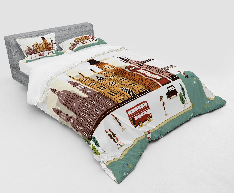 Polyester-Cotton Ben 10 Single Duvet Set