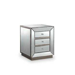 Maguire 3 Drawer Nightstand