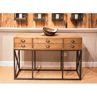 Sarreid Ltd Console Table with 6 Drawers