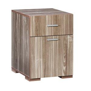 Good Olivia 2 Drawer Lateral File Cabinet. Espresso Oak Walnut