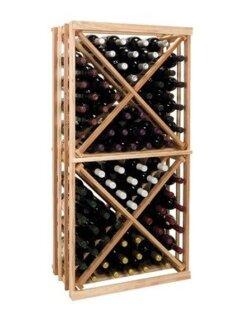 Vintner Series 54 Bottle Floor Wine Rack