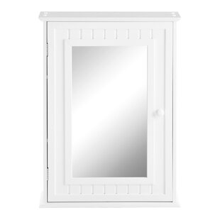 Fishman 48cm X 66cm Surface Mount Mirror Cabinet By Belfry Bathroom