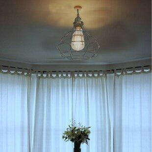 Williston Forge Ondine 1-Light Bulb Pendant