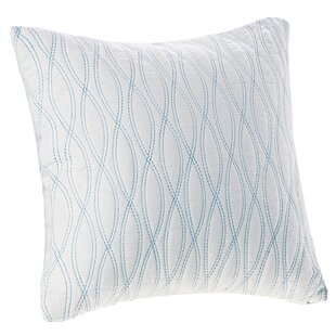 Coastline Cotton Throw Pillow