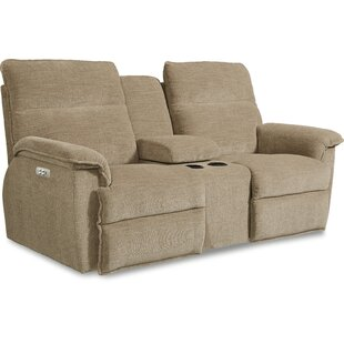 Jay La-Z-Time® Power-Recline with Power Headrest Loveseat by La-Z-Boy