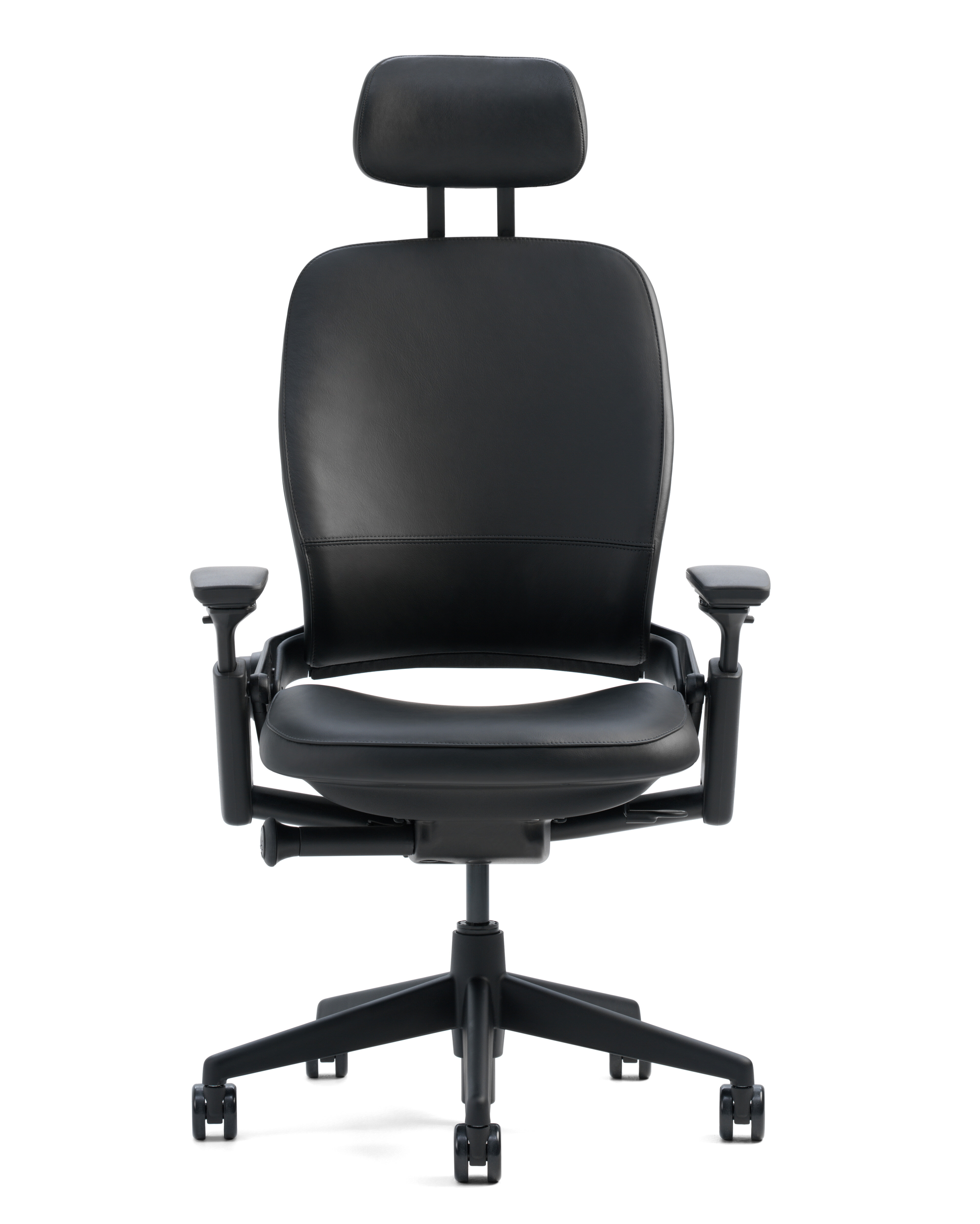 Leap® High-Back Leather Desk Chair