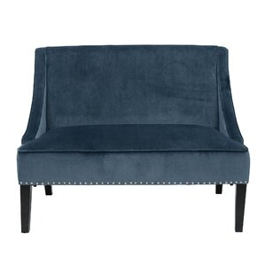 House of Hampton Jolinda Swoop Settee
