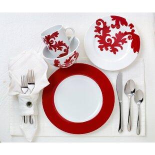 Calarama 16 Piece Dinnerware Set, Service for 4
