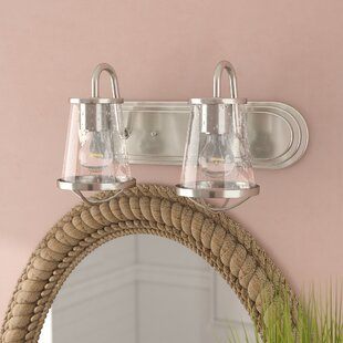 Regan 2-Light Vanity Light by Beachcrest Home