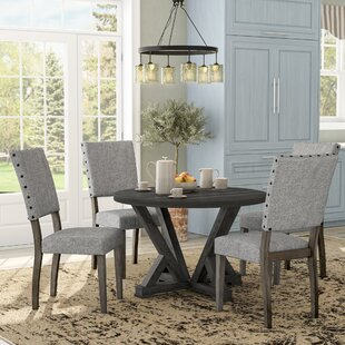 Bateson 5 Piece Dining Set Gracie Oaks
