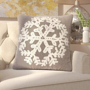 Woodbridge Snowflake Throw Pillow