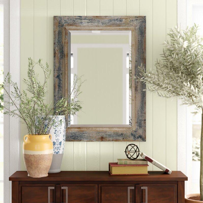 Janie Rectangular Wall Mirror & Reviews | Birch Lane on Wall Mirrors id=11828