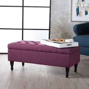 Higginbotham Upholstered Storage Bench