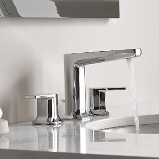Moen Via Standard Bathroom Faucet Double-Handle Lever