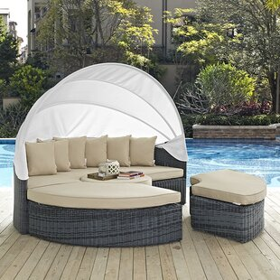 Brayden Studio Keiran Daybed with Cushions