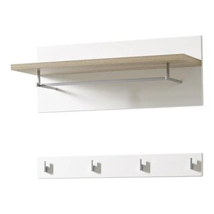 Rossana Wall Mounted Coat Rack By Ebern Designs