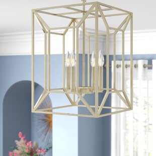 Missy 4-Light Square/Rectangle Pendant by Willa Arlo Interiors