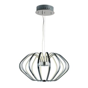 Alderamin 18-Light LED Geometric Chandelier by Orren Ellis