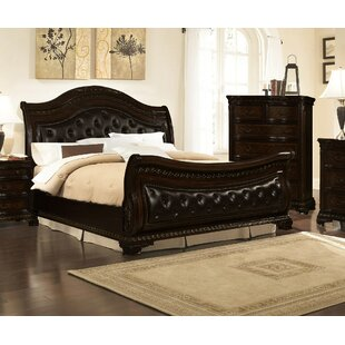 Seng Upholstered Sleigh Bed