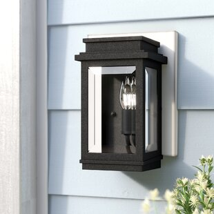 Laurel Foundry Modern Farmhouse Persil 1-Light Outdoor Flush Mount