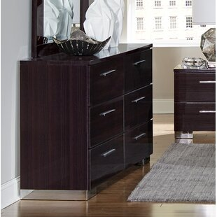 Pearce 6 Drawer Double Dresser