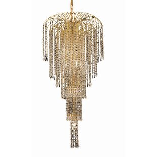 Westrem 9-Light Crystal Chandelier By House of Hampton