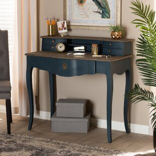 Marjorie Desk With Hutch by One Allium Way Purchase