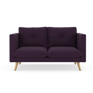 Rockton Cross Weave Loveseat by Brayden S..