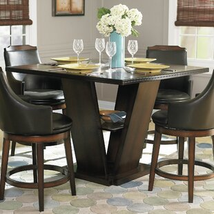 Allenville Counter Height Dining Table by Three Posts Sale