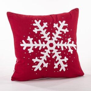nevar cotton throw pillow