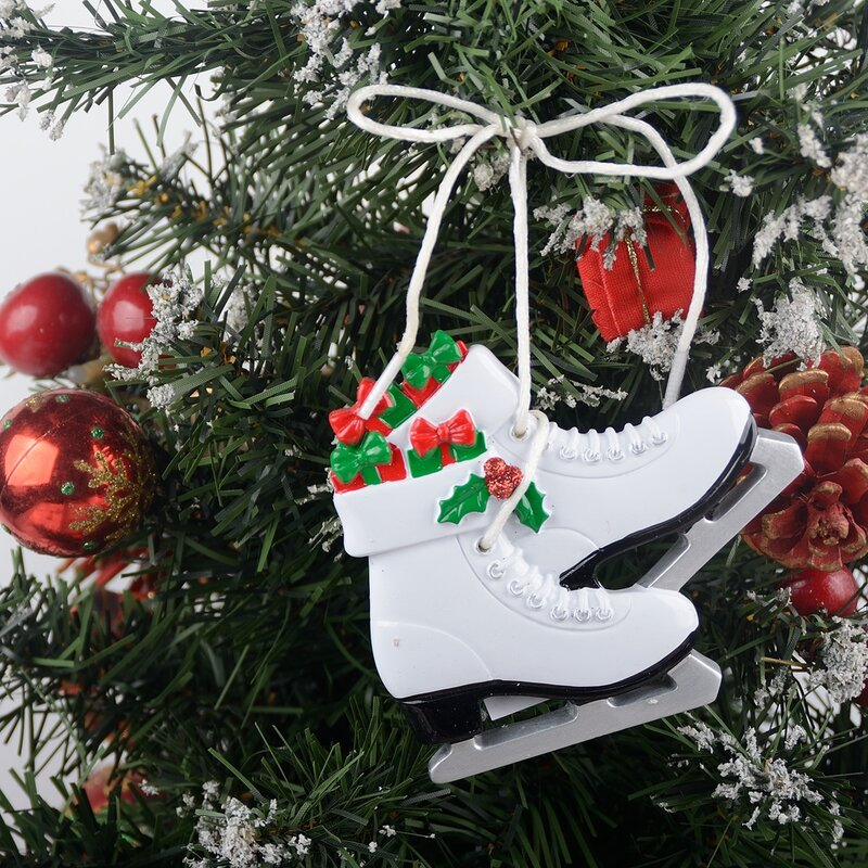 Ice Skater Girl Personalized Christmas Ornament