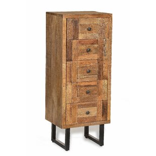 Marielle 5 Drawer Chest By World Menagerie