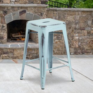 Backless Blue Bar Stools Counter Stools You Ll Love In 2021 Wayfair