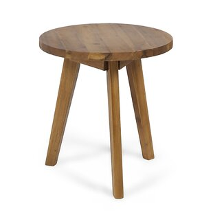 Wrought Studio Humphries Outdoor Wooden Side Table