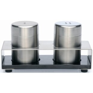 Cubo 3 Piece Salt & Pepper Set