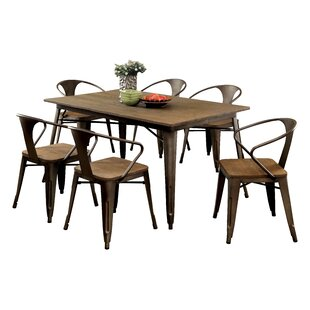 Reedley 7 Piece Dining Set Trent Austin Design