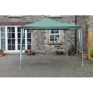 Vogler 3m X 3m Metal Pop Up Gazebo By Sol 72 Outdoor