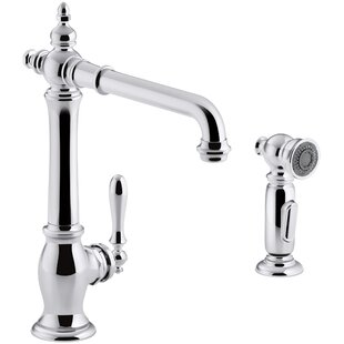 Kohler Artifacts® 2-Hole Kitchen Sink Faucet with 13-1/2