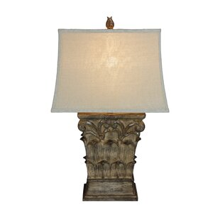 Dessie Grotto Sculpted 31 Table Lamp