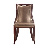 Crawfordville Upholstered Dining Chair (Set of 2) by Astoria Grand